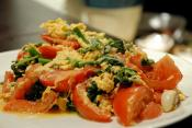 Vegetable Scrambled Eggs
