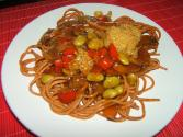 Vegetable Spaghettini