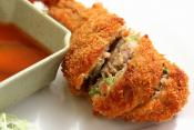 Vegetable Stuffed Beef Roll
