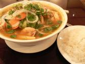 Vietnamese Sweet Sour Shrimp Soup