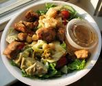 Vinaigrette Dressing And Croutons