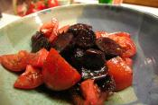 Vinegar And Oil Dressing With Tomato