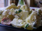 Warm Sausage And Potato Salad