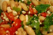 Fusilli Salad With White Beans