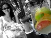White Sangria Splash