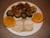 Whole  Tilapia With Onion &amp; Lemon