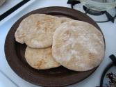 Arabic Whole Wheat Pita Bread