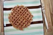 Whole Wheat Nut Waffles