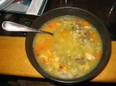 Salmon-wild Rice Soup