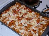 Ziti With Onions And Garlic