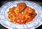 Zucchini And Tomatoes With Macaroni