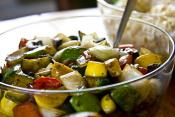 Zucchini With Peppers