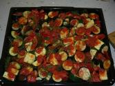 Zucchini With Tomatoes And Garlic