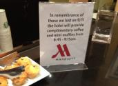 Free Muffins - Marriott Style Of Remembering 9/11