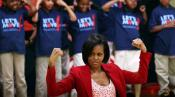 Michelle Obama 'hip Hops' For Health