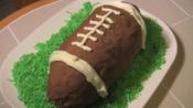 Football Ice Cream Cake Recipe