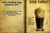 Are You Game For National Irish Coffee Day?