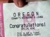 Oregon Bartender Hits Jackpot