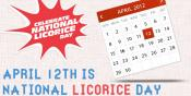 The Finger-licking National Licorice Day!