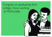 Mcdonald's Wants 'graduate' Cashiers Only