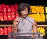 Michelle Obama Joins Media For A Nutritious Diet
