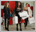 Supermodels Go On A Black Friday Rampage