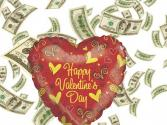 How To Burn Your Money On Valentine's Day
