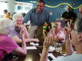 President Obama Stops & Eats At Small Towns