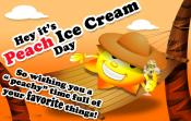 National Peach Ice Cream Day Recipes