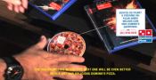 Domino's Brazil Campaign Sells Pizza-on-dvd