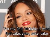 Rihanna Shows 'much Love' As She Turns 26