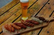 A Strange Sausage And Beer Diet