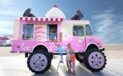 Skoda's Monster Ice Cream Truck Tours Uk