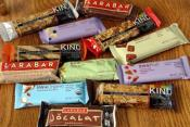 Choose The Healthier Snack Bar