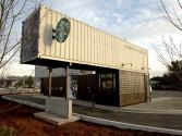 Starbucks Built With Shipping Containers