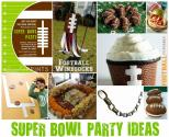 Superbowl Party Ideas: Ways To Organize Superbowl Theme Party