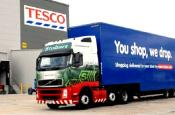 Tesco's Trucks Play Dr Jekyll And Mr Hyde