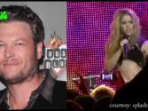 'the Voice' Judges Blake Shelton And Shakira Perform New Duet ' Medicine' At Sayers Club