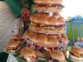 Couple Say 'i Do' By Cutting A Burger