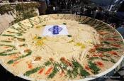 Lebanon Beats Israel – In Making The Biggest Hummus!