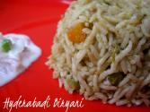 Hyderabadi Vegetable Biryani