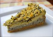 Black And White Sesame Cheese Cake