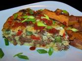 Gluten Free - Impossible Pepper Steak Pie