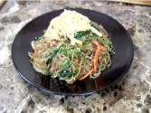 Japchae - Korean Stir-fried Noodles