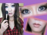 Japanese Gyaru Inspired Makeup Tutorial