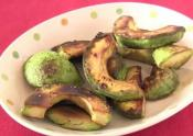 Japanese-style Pan Fried Unripe Avocado