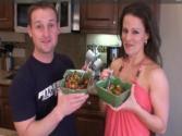 Jons Rainbow Salad - Jon And Julieanna In The Kitchen