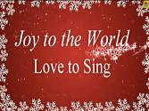 Joy To The World With Lyrics | Christmas Songs | Children Love To Sing Kids Songs