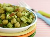 Khatta Meetha Chana Chaat (healthy Snack For Kids) By Tarla Dalal