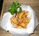 Wontons With Egg Stuffing By Chef Sonali